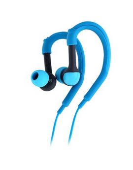 אוזניות ספורט כחולות