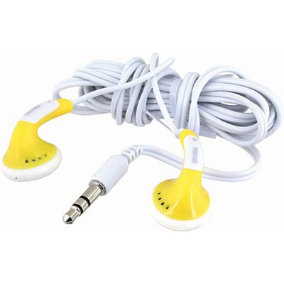 אוזניות COLOR BUDS צהובות