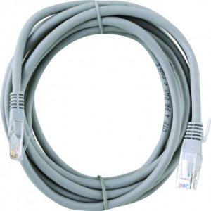 כבל רשת אפור לחיבור למחשב