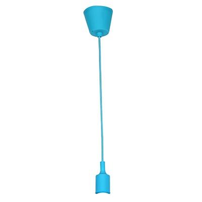 אימוג׳י: כבל מנורת תלייה+בית נורה כחול