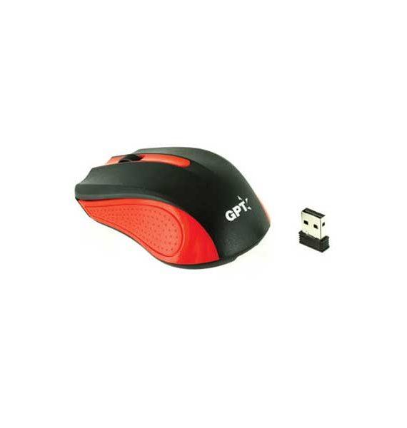 עכבר אלחוטי אופטי אדום